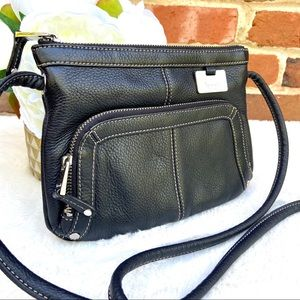 TIGNANELLO Leather Crossbody X-Body Organizer Bag